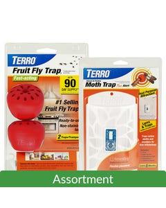 TERRO® Moth & Fruit Fly Trap Assortment