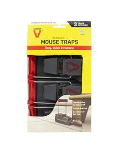 Victor® 3-Pack Quick-Kill® Mouse Traps