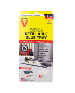 Victor® Hold-Fast® Refillable Rat Glue Traps