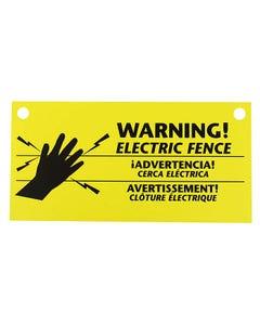 Zareba® Electric Fence Warning Signs