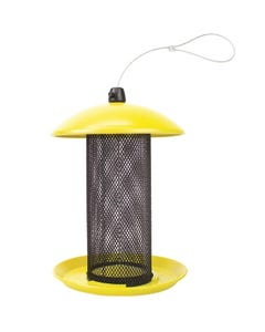 Perky-Pet Yellow Finch Feeder, 1.5 lb Capacity