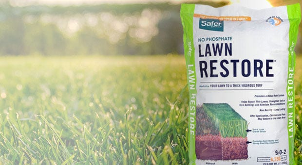 Safer Brand Lawn Care products